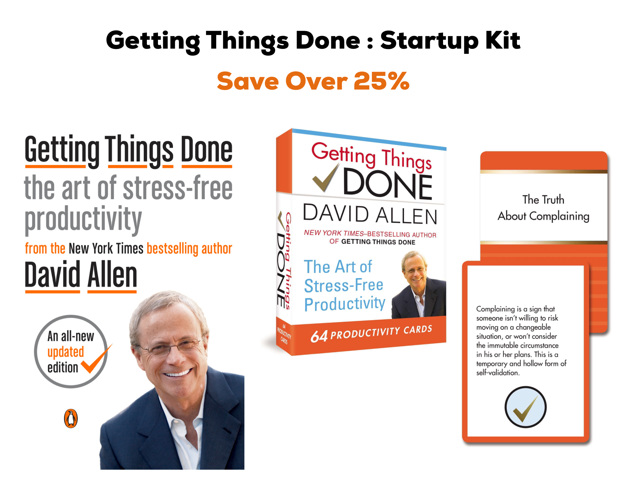 Getting Things Done Startup Kit  by David Allen
