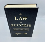 GOLD The Law of Success Deluxe Edition by Napoleon Hill