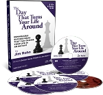 The Day That Turns Your Life Around By Jim Rohn Plus Bonus DVD