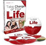 Take Charge Of Your Life By Jim Rohn Plus Bonus DVD