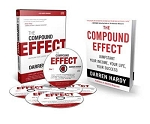 The Compound Effect Book & Enhanced Audio Program Combo by Darren Hardy