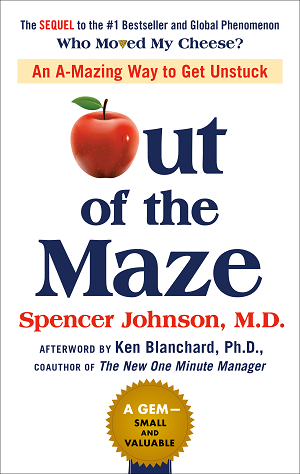 """Out of the Maze is a short, sweet, cheesy (yes) book — but it's a calming, quick read and is likely to be in huge demand as an optimistic, accessible way to start thinking about change."" - The Financial Times"