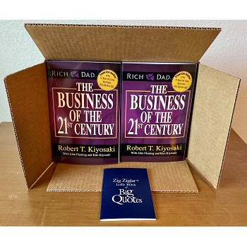 20 Pack- The Business of The 21st Century Paperback + Free Quotes Book & Free Shipping!